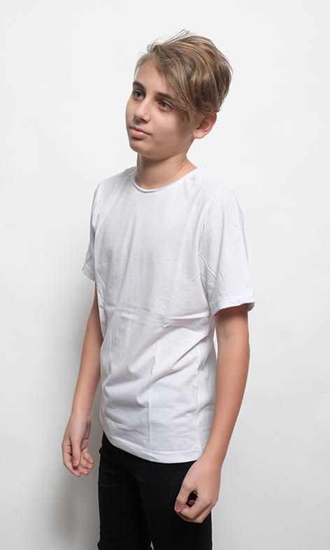 REMERA LISA KIDS BLANCO - comprar online