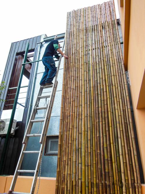 bambuguazu paneles de bamb para cercos y techos