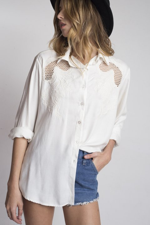 camisa Sweet Surrender cruda - comprar online