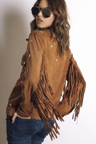 Campera Western Night