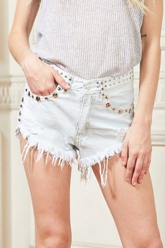 Short Denim Rock - comprar online