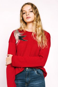 Sweater Cranberry Ruby
