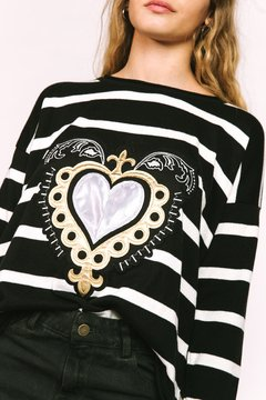 Sweater Love Black - comprar online