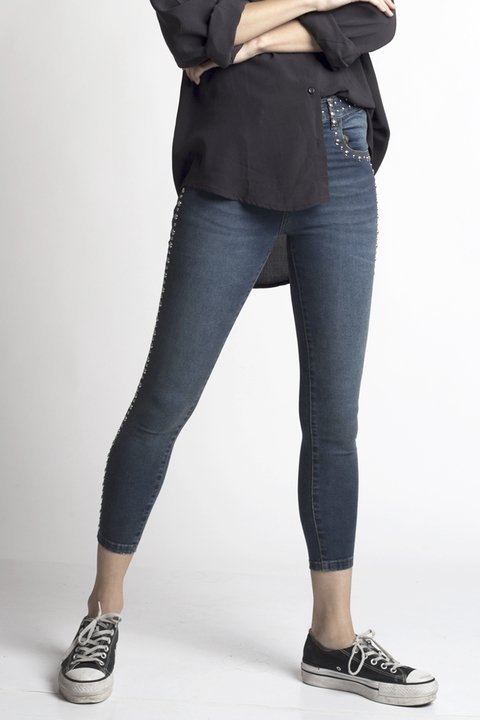 Pantalon denim Moonwalk - comprar online