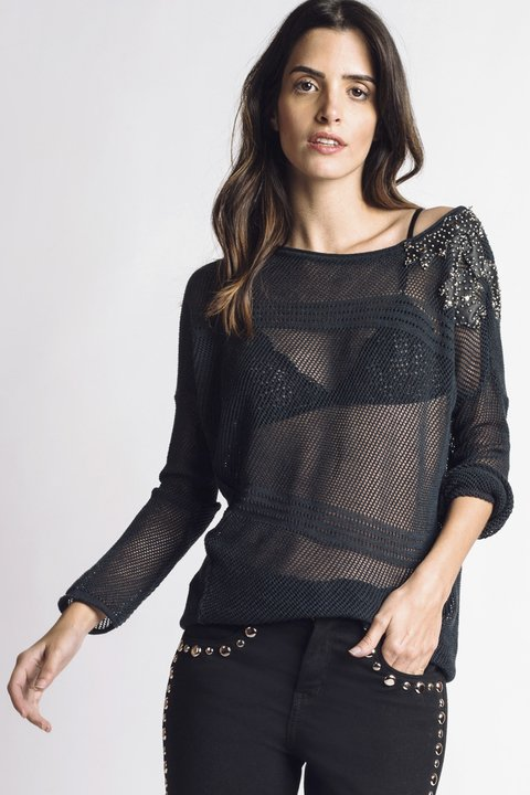 Sweater Mesh Obsession - comprar online