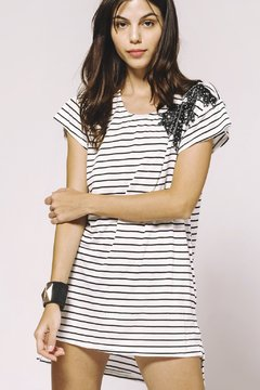 Vestido Crazy Little Thing Called Love stripes