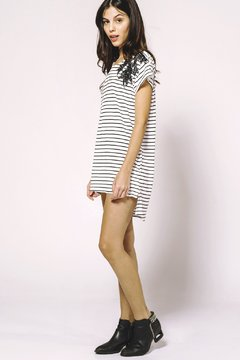 Vestido Crazy Little Thing Called Love stripes en internet