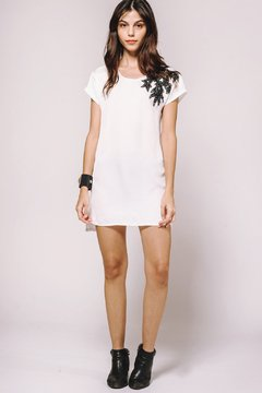 Vestido Crazy Little Thing Called Love White - CLUB M
