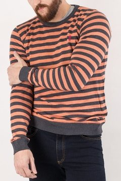 SWEATER GEORGE CORAL - SLIM en internet