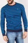 SWEATER GEORGE AZUL MARINO/AZUL ELECTRICO