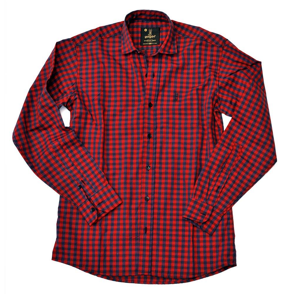 Camisa Andrés Cuadros Azul-Rojo - Comprar en gargán 08152b0db064