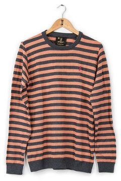 SWEATER GEORGE CORAL - SLIM - GARGÁN