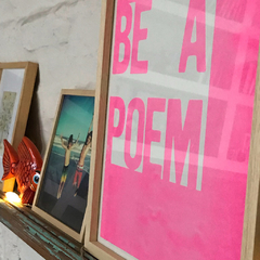 Be a poem PINK / Big Sur - comprar online