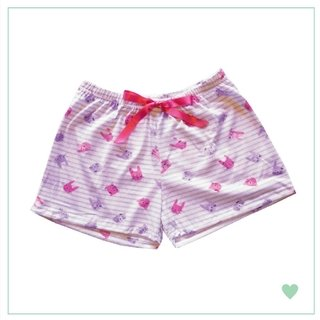 Short de algodon estampado