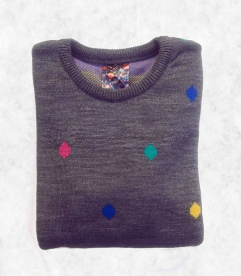sweater diamante - MALANDRA