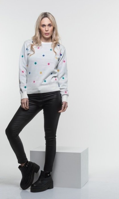 sweater diamante