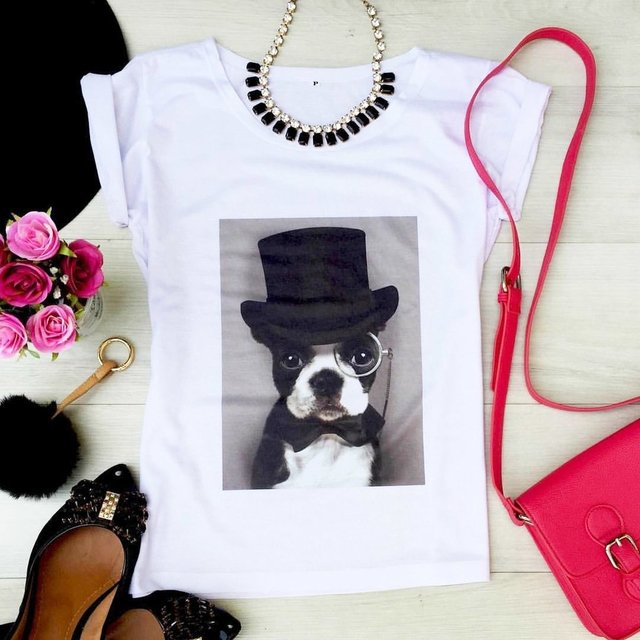 Camiseta Dog Style na internet