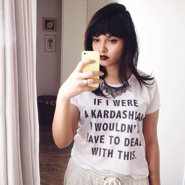 Camiseta If I Were a Kardashian - Jackie's Room