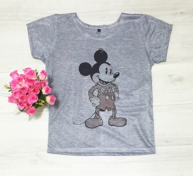 Camiseta Mickey Tatoo - comprar online