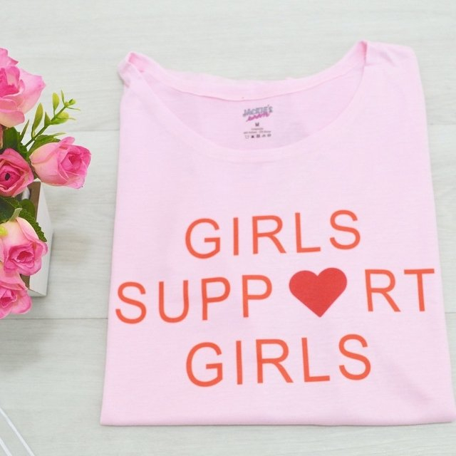 Camiseta Girl Support Girls na internet