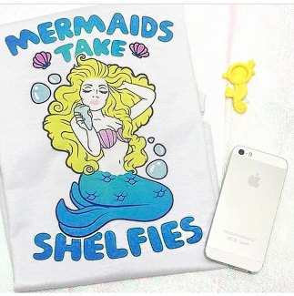 Camiseta Mermaid - comprar online