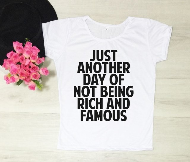 Camiseta Just Another Day - comprar online