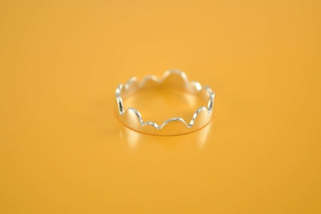 Minimal Ring, Sterling Silver Ring, Jungle Ring, Ring for girls, Kid's jewelry - buy online