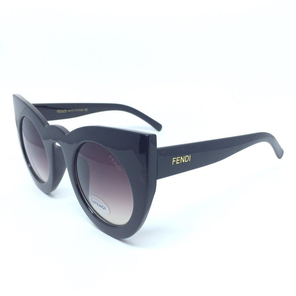 7147ded5a3c58 Diesel DL0067 S - Azul  Prata - 92V Óculos de Sol na eÓtica. Oculos Fendi  Lolly Gatinho