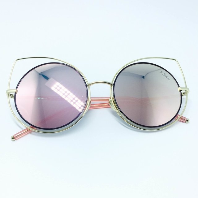 f68ffed7c Oculos de Sol Fendi Eye Color Gatinho