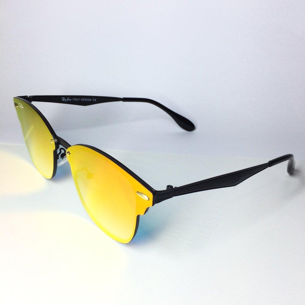 2c6b09bc0e723 ... Óculos de sol Ray Ban Blaze Clubmaster - LOVE MONEY - Óculos de Sol e  Relógios ...