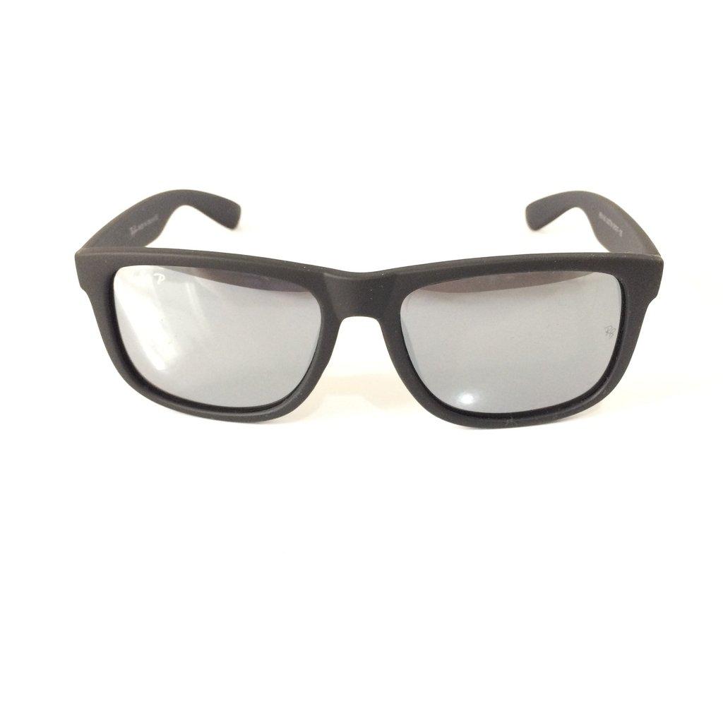 Óculos Ray-Ban Justin RB4165 55 - Preto Fosco - comprar online 8a42fb8e7d