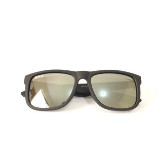 Óculos Ray-Ban Justin RB4165 55 - Preto Fosco on internet