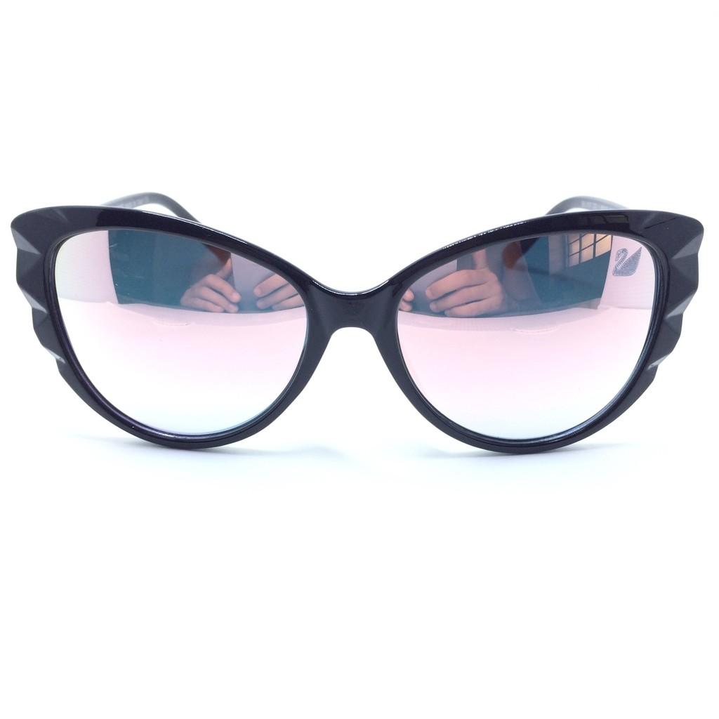 3aabbfcb940dc Oculos de Sol Swarovski Cat Rose
