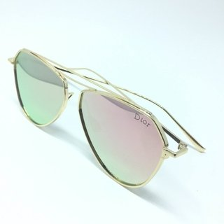 Oculos Dior Aviador Chrome Espelhado - LOVE MONEY  - Óculos de Sol e Relógios