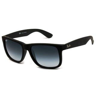 0e16b7613 Óculos Ray-Ban Justin RB4165 55 - Preto Fosco