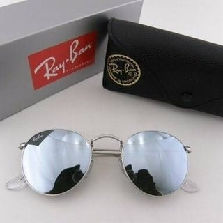 RAY-BAN ROUND ESPELHADO - PRATA on internet