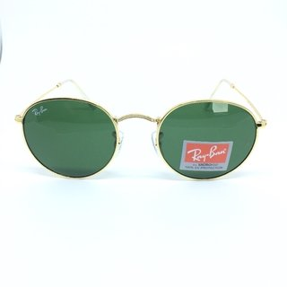 Ray Ban Round G15 - Verde Escuro na internet