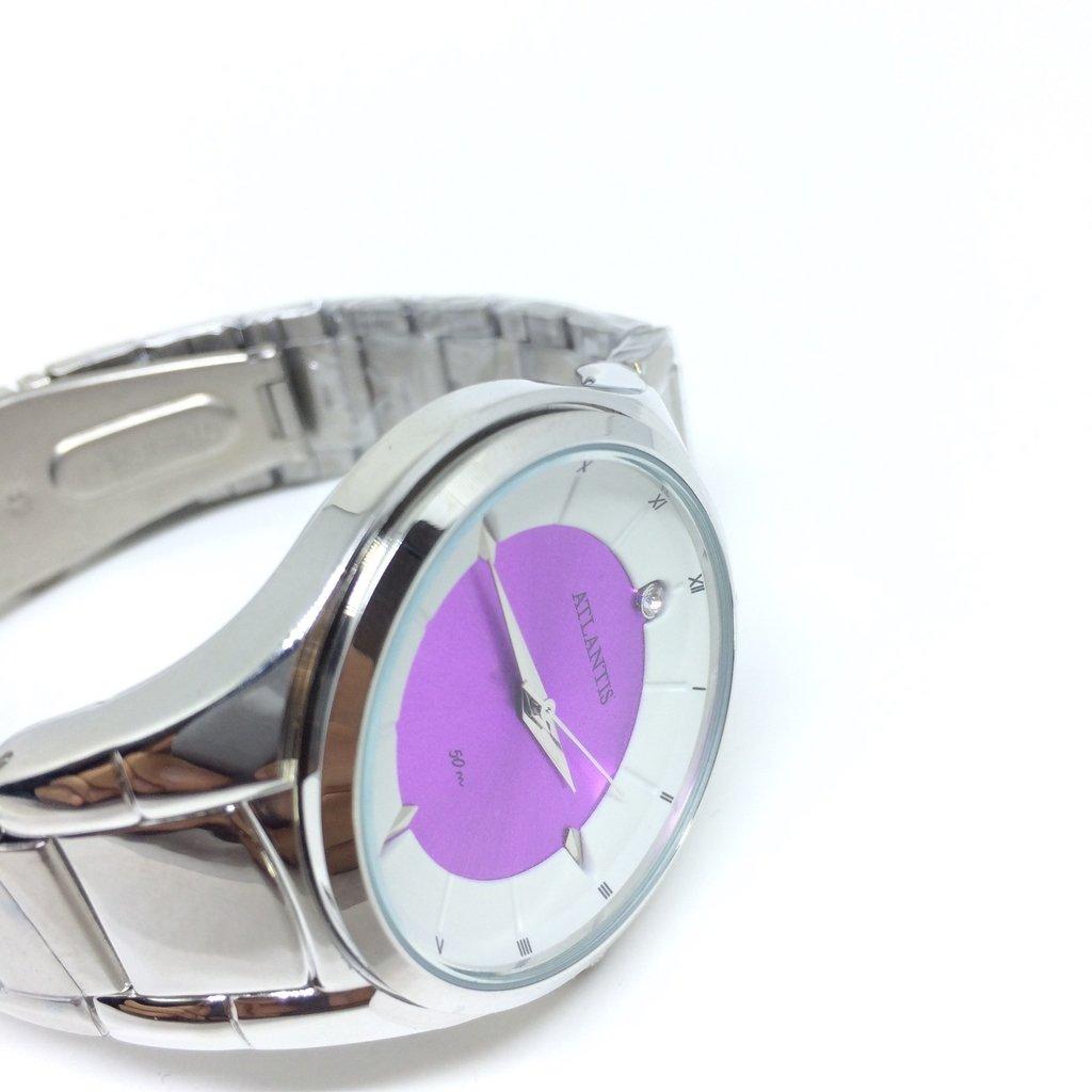 13d62a6e868 ... Relógio Atlantis Feminino Violet 50 m na internet Relógio Atlantis  Feminino Violet 50 m - LOVE MONEY - Óculos de Sol e Relógios ...