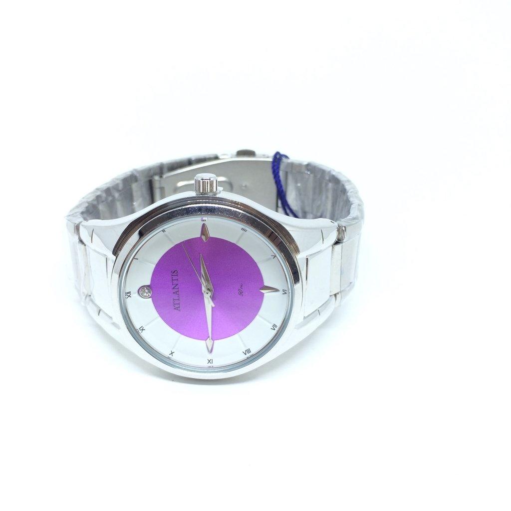 cb72993573f Relógio Atlantis Feminino Violet 50 m Relógio Atlantis Feminino Violet 50 m  - comprar online ...
