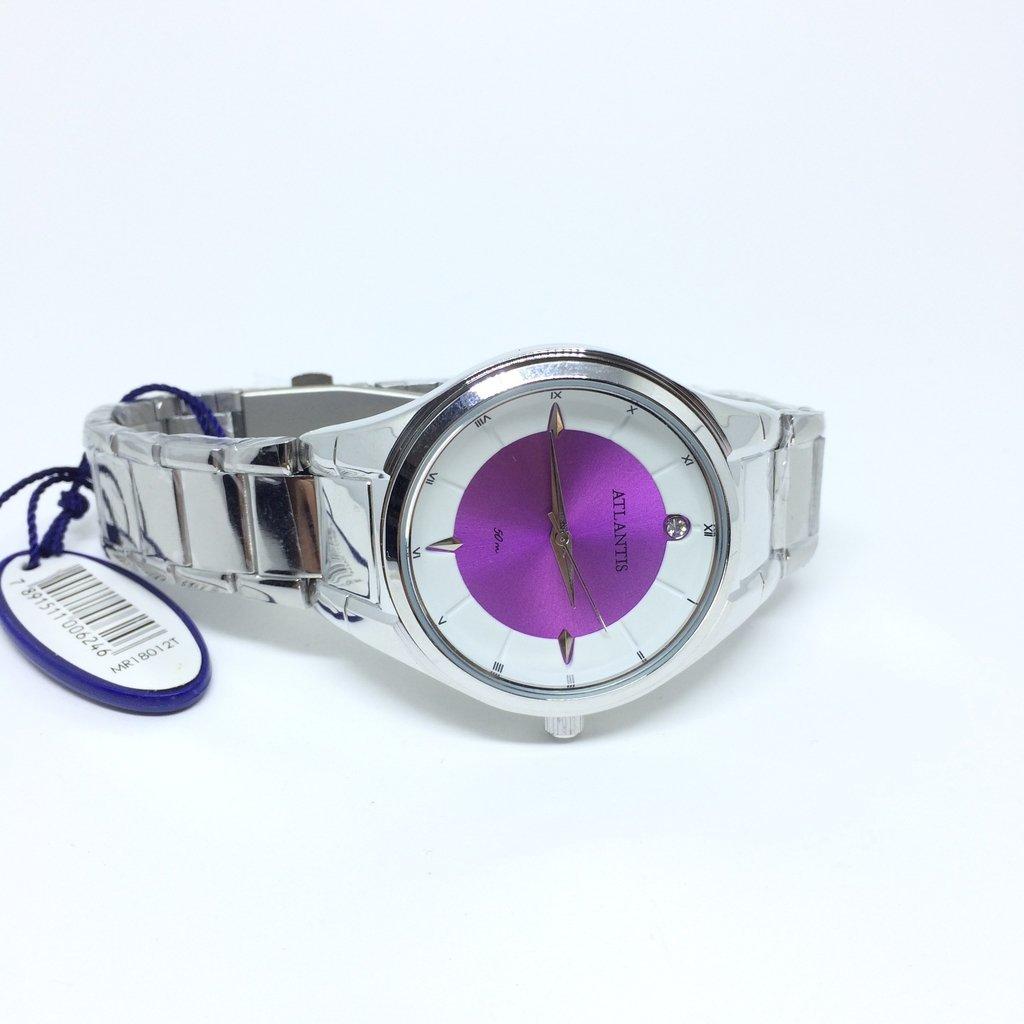 9bd9799885b ... LOVE MONEY - Óculos de Sol e Relógios Relógio Atlantis Feminino Violet  50 m - loja online Imagem do Relógio Atlantis Feminino Violet 50 m