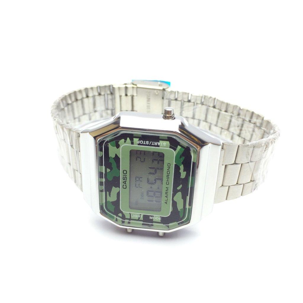 5706e2e47b4 ... Relógio Casio Vintage Camuflado na internet