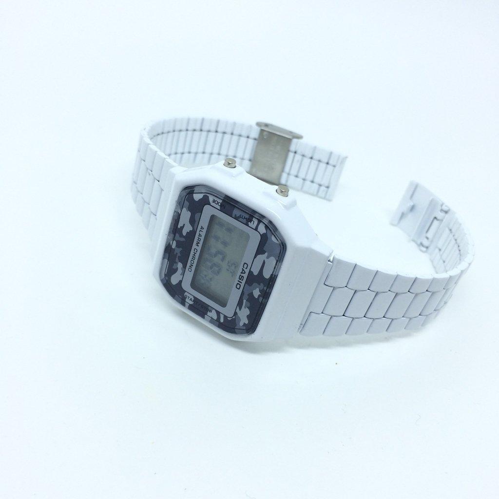 48c9fddbaa7 ... Relógio Casio Vintage Camuflado Branco - LOVE MONEY - Óculos de Sol e  Relógios ...