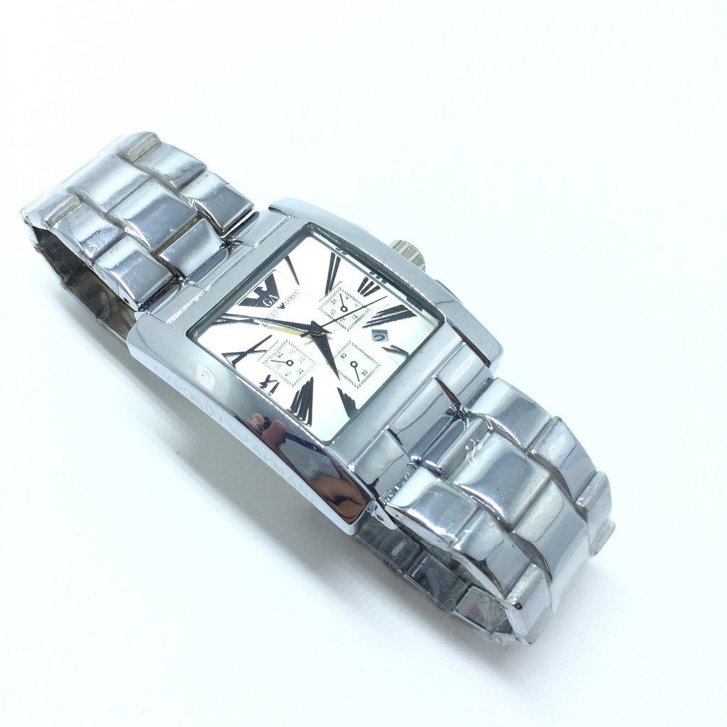 09511f85ac6 Relógio Masculino Emporio Armani prata Automatic