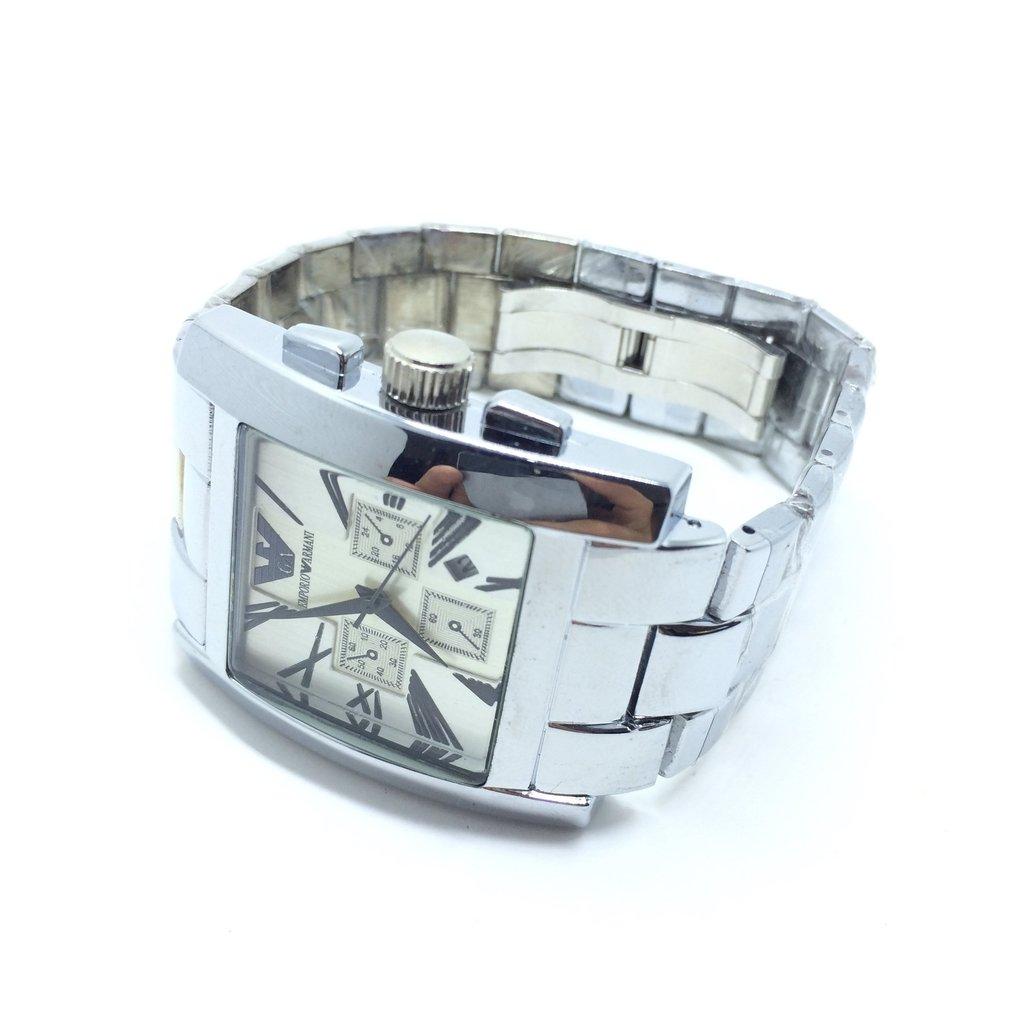 5a2e605e2d3 ... online store Image of Relógio Masculino Emporio Armani prata Automatic