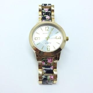 c2807a36649 Imagem do Relógio Michael Kors MK Cristais Floral - Black ...