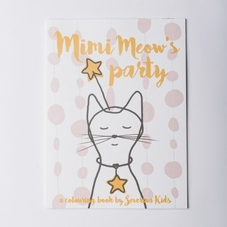 Libro para colorear: MIMI MEOW'S PARTY