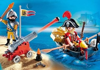 PLAYMOBIL MALETIN PIRATAS