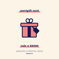 Gift Card x $2999