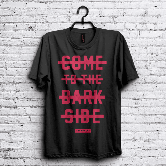 Remera Dark Side #VRYDFFCLT