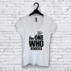 Remera entallada The One #VRYDFFCLT